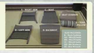 Home Depot Tacana Deep Seat Club Chair