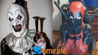 Art the Clown goes on Omegle!