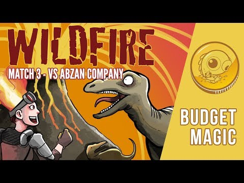 Budget Magic: Wildfire vs Abzan Company (Match 3)