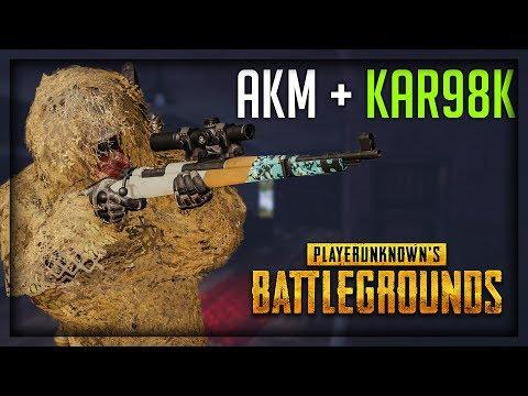 AKM + KAR98K ! Playerunknown's Battlegrounds