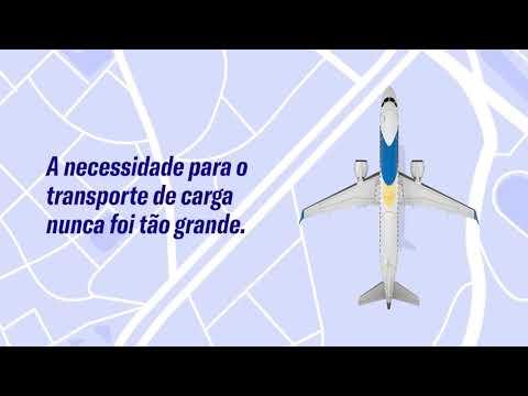 Novas soluções da #Embraer para o transporte de carga