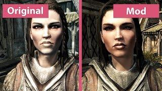 Skyrim – Maximum Graphics Overhaul 2015 vs. Vanilla Comparison [WQHD|1440p]