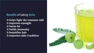 Benefits of Taking Amla