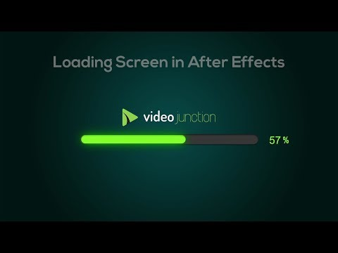 How to make Loading screen animation in after effects | Progress Bar