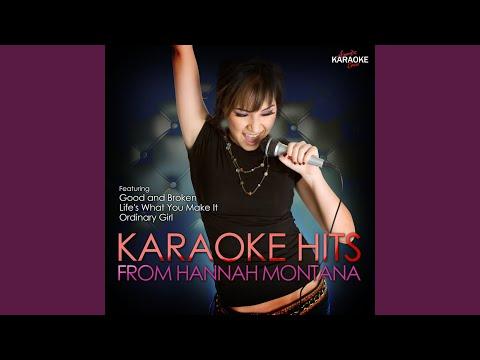 Rock Star (In the Style of Hannah Montana) (Karaoke Version)
