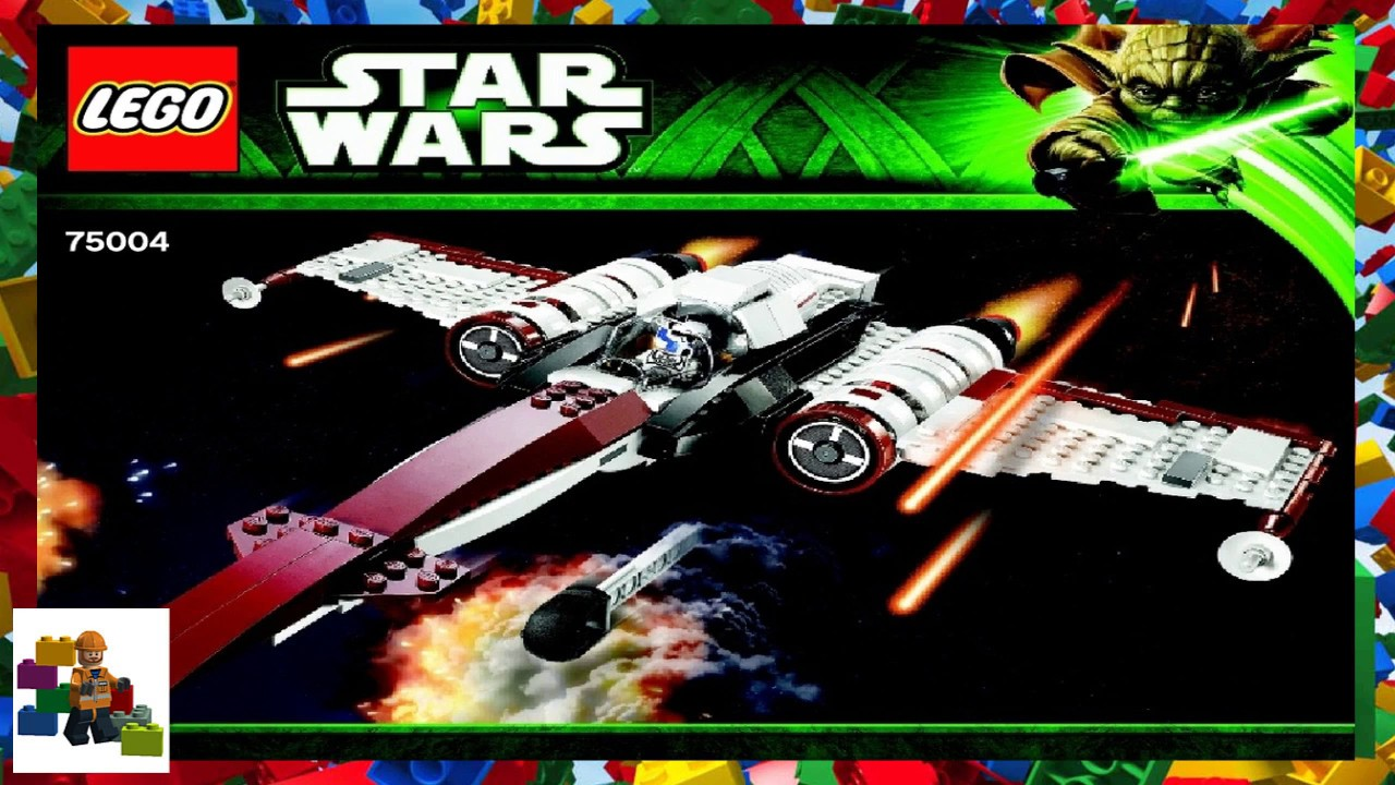 Lego Instructions Star Wars 75004 Z 95 Headhunter Youtube