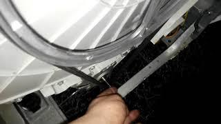 ремонт стиральной машинки - Установка/замена ремня стиральной машины Whirlpool awe 6519/p