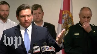 Florida governor holds news conference on Pensacola shooting