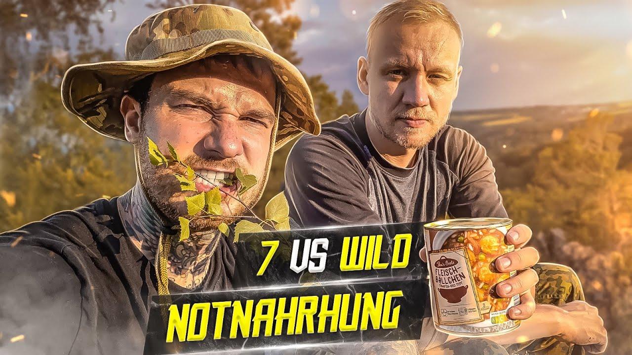 7 VS WILD: Pflanzliche Notnahrung finden   Vorbereitung Overnighter Survival in Schweden Teil 2