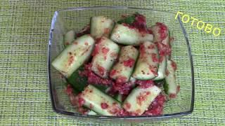 Закуска из Огурцов, Кимчи (Часть 3)