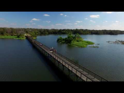 Edward Medard Park, FL | The Boardwalk | Drone Video