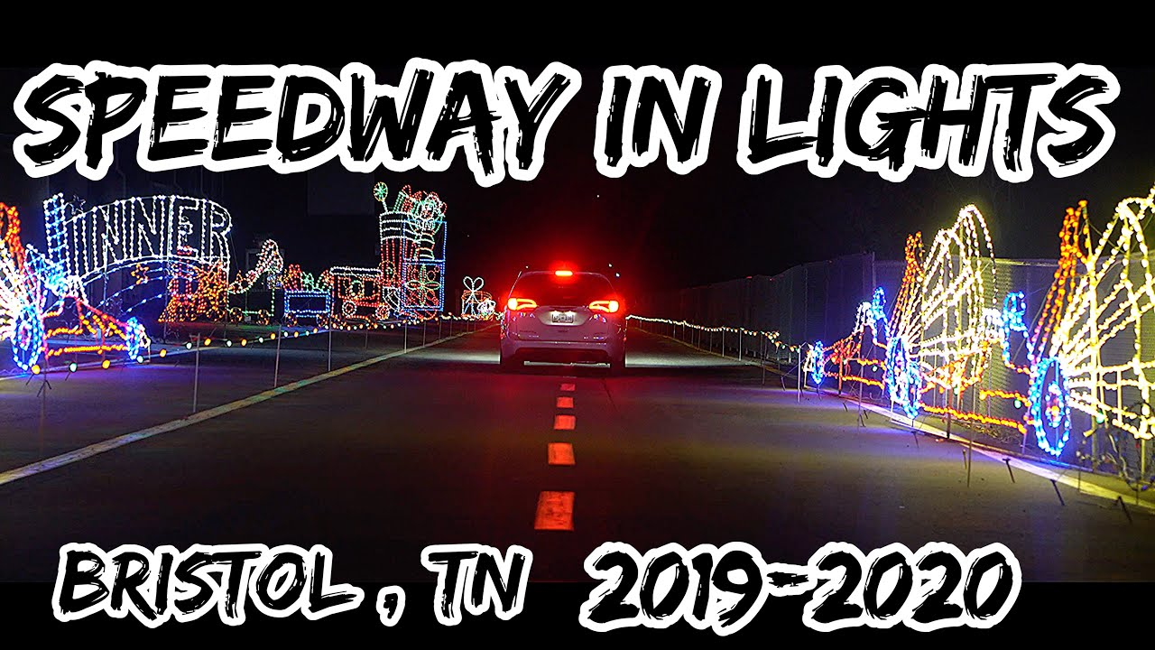 Bristol Motor Speedway Christmas Lights 2020 Bristol Speedway In Lights 2019 | What's New? | Pinnacle Speedway
