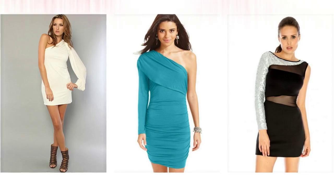 Eine Hülse Kleid, elegante abendkleider, schöne kleider - YouTube