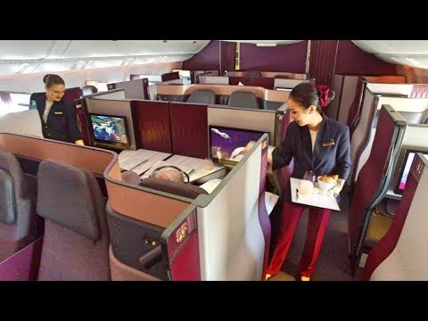 World's BEST Business Class - Qatar Airways QSuite