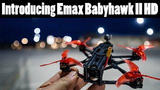 Vidéo: Emax Babyhawk II HD BNF