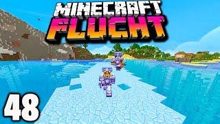 Mit diesem Minecraft TRICK läuft man über WASSER! ☆ Minecraft FLUCHT #48