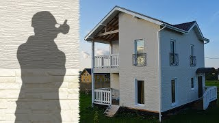 Облицовка дома: сип (sip) панельный дом, внешняя отделка фасада.(, 2017-04-03T23:22:05.000Z)