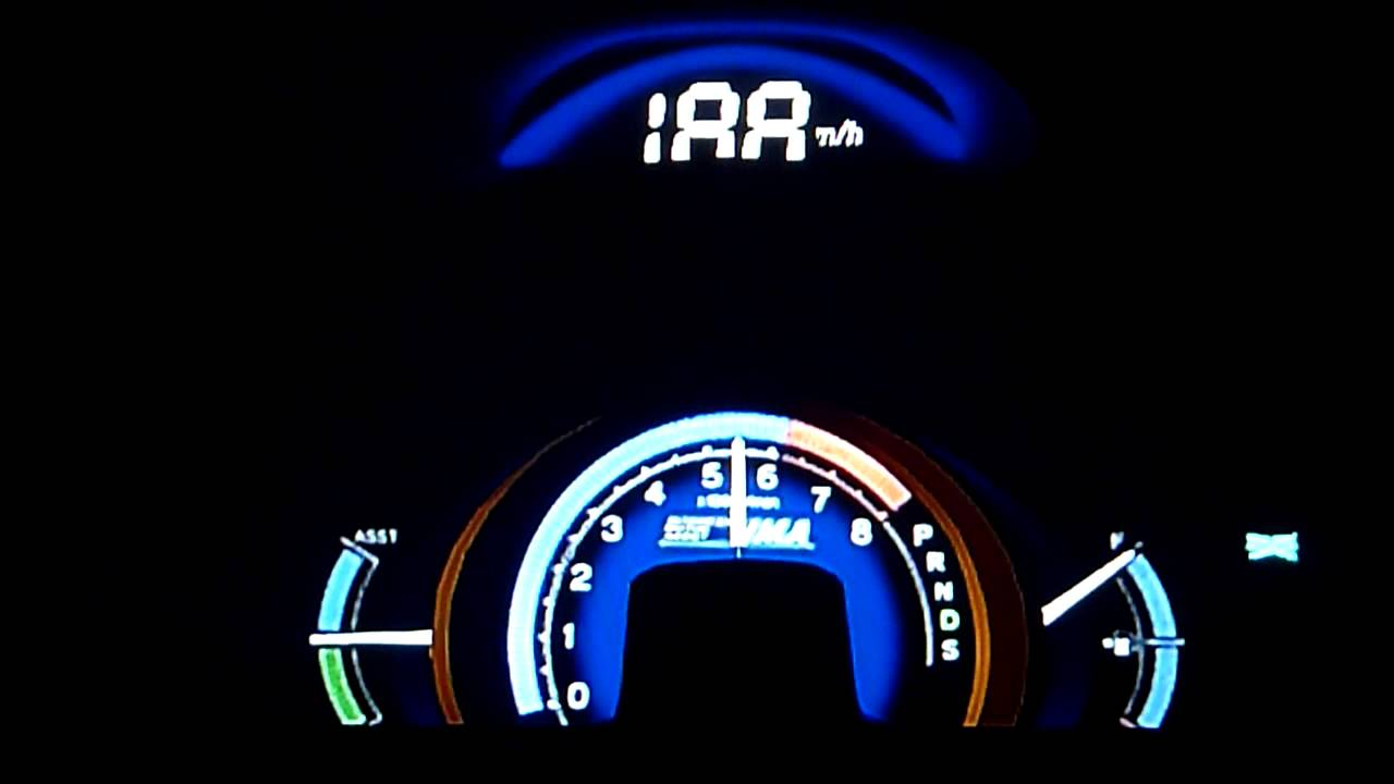Honda insight top speed