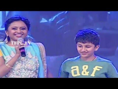 Anchor Suma Funny Questions to Mahesh babu Son Gautham Krishna   TFPC