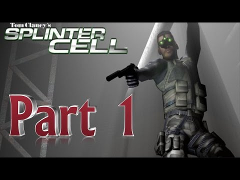 Splinter Cell - Stealth Walkthrough-part 1(Training-Police Station)1080p