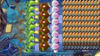 Plants vs Zombies 2 - Snap Pea, Hypno Shroom and Coconut Cannon