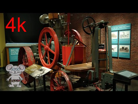 Froelich Traction Engine, 1937 In 4k