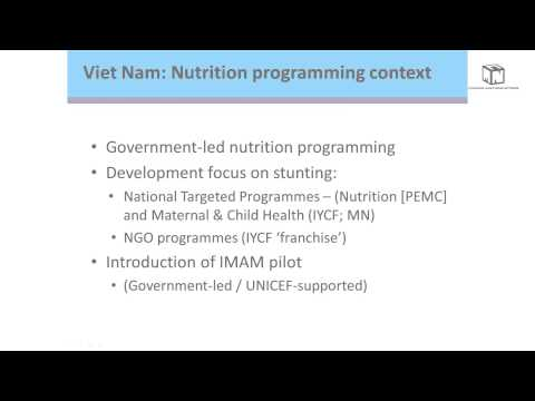 James Hedges (UNICEF) - National Nutrition Information Systems