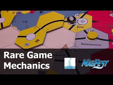 Rare Game Mechanics - MAGFest 2019