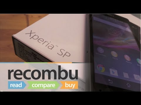 Sony Xperia SP Unboxing video