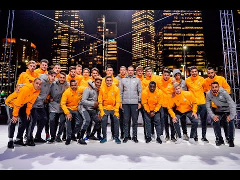 Juve and adidas light up Melbourne - Juve e adidas, show a Melbourne