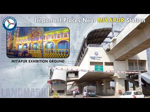 Important Landmarks / Places Near Hyderabad Metro Stations.