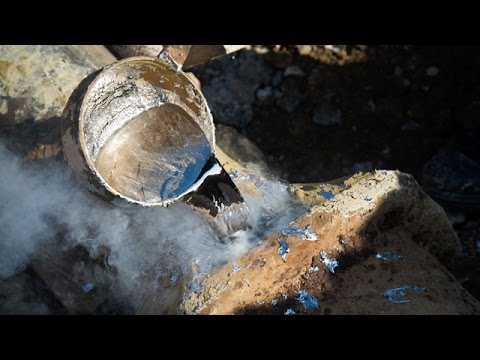 Fountain engineer - Restoration of the 18th century pipes