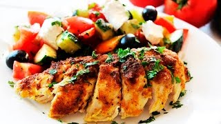 Baked Garlic Cheese Chicken Recipe  Crispy and Juicy  Tasty Cooking