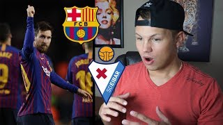 Lionel Messi Makes More History in Barcelona Win | Barcelona VS Eibar