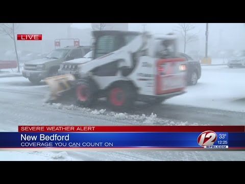 Storm update from New Bedford