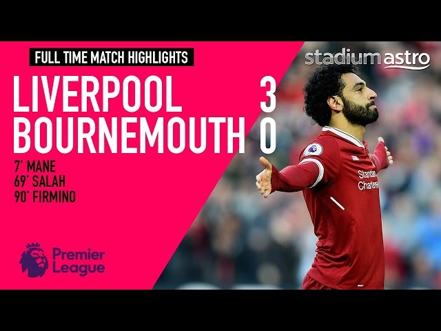 HIGHLIGHTS: Liverpool 3 - 0 Bournemouth