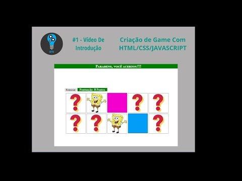 #3 - CRIAÇÃO DE GAME COM HTML/CSS/JAVASCRIPT: CSS