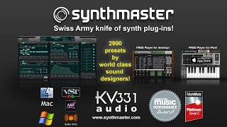 SynthMaster Player 2 7 Presets Demo and Tour