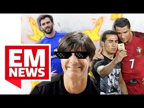 Ronaldos Flitzer-Selfie und Will Grigg on Fire - EM-News