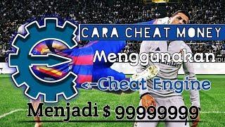 Cara cheat money pes 2017 menggunakan cheat engine pc