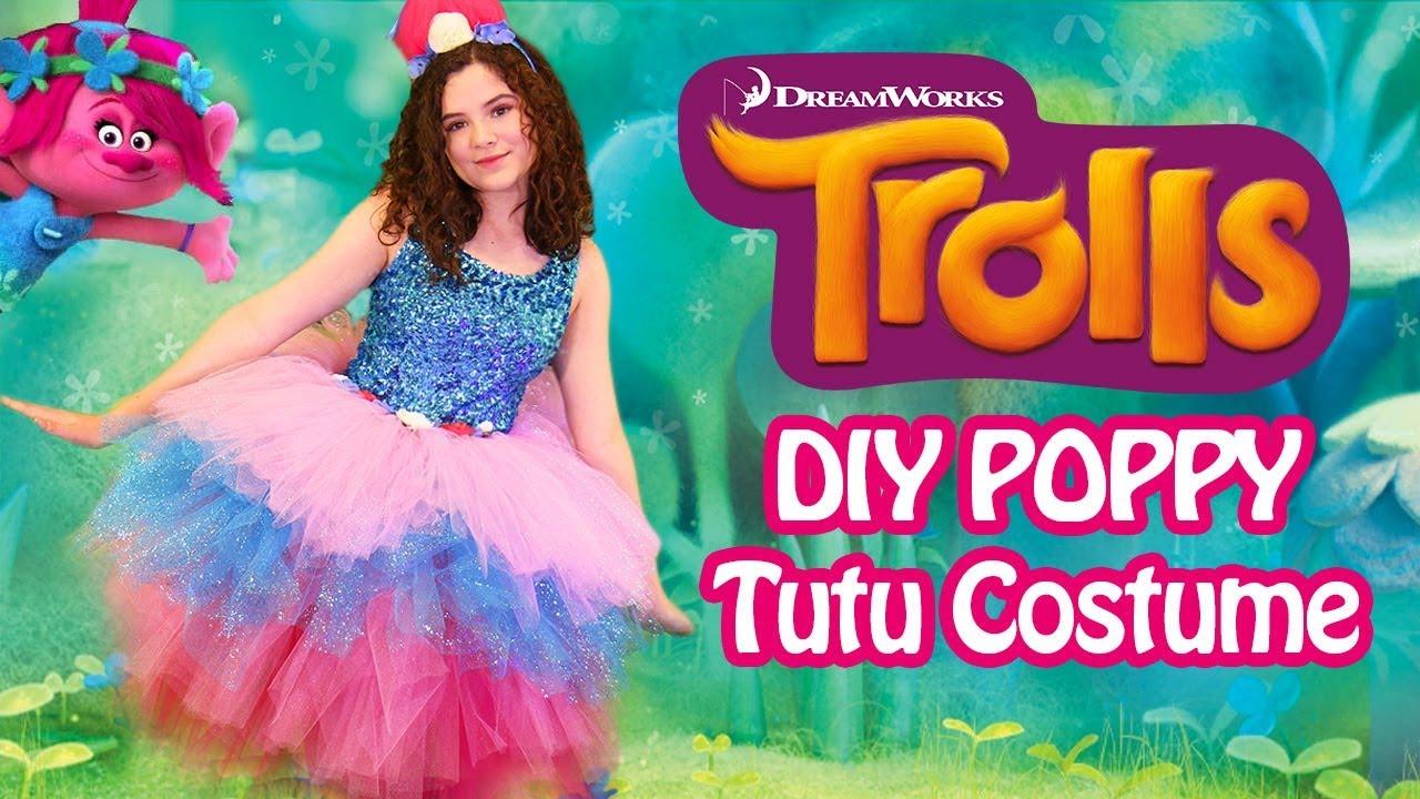 Trolls poppy tutu costume diy cute easy no sew halloween trolls poppy tutu costume diy cute easy no sew halloween costume solutioingenieria Choice Image