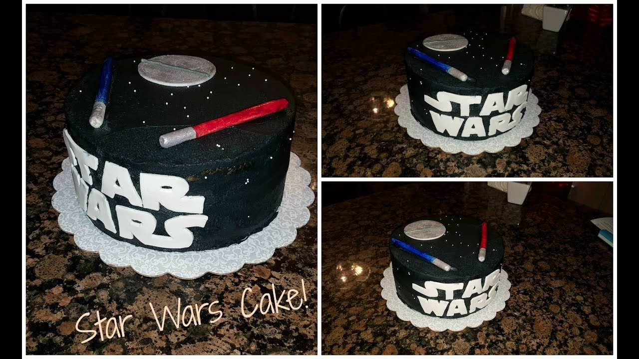Star Wars Cake Youtube