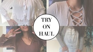 TRY ON HAUL - Amazon, XXI and MORE!