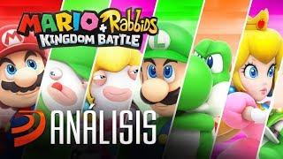 Mario + Rabbids Kingdom Battle: ANÁLISIS de una fusión excelente