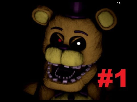 Five Nights at Freddy's: The Beginnings (PART 1 DEMO)