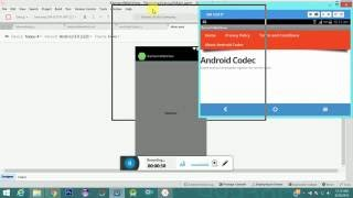 Xamarin WebView Example Android
