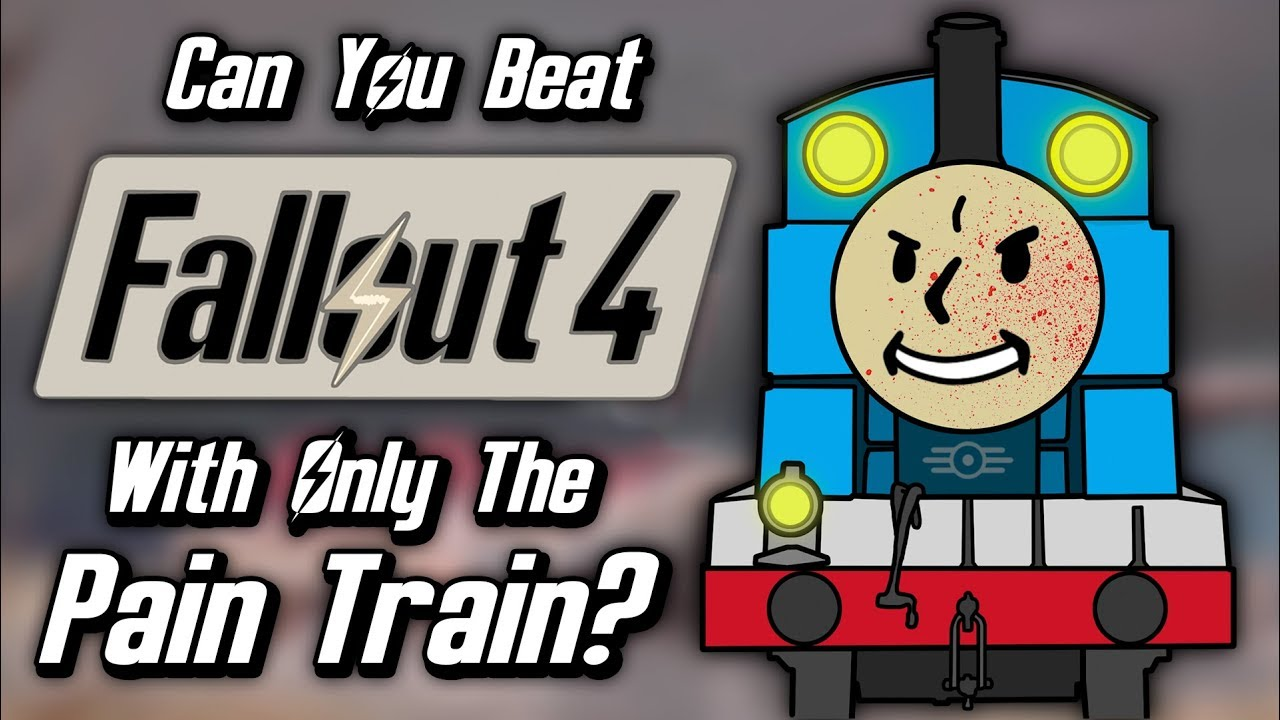 Can You Beat Fallout 4 With Only The Pain Train Perk?