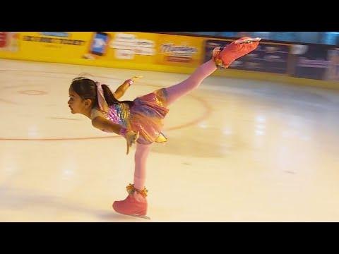 Zara Cute Lomba Ice Skating Pakai Baju Desainan Zara Sendiri | Video Inspiratif Anak Indonesia