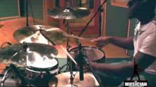 Lester Estelle Jr Drum Solo - Studio Session - TMNtv