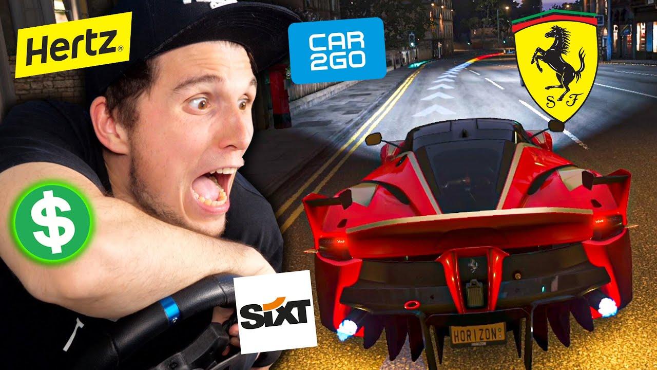 Ich starte die teuerste Autovermietung der Welt! | Forza Horizon 4